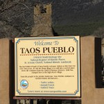 Entrance to Taos Pueblo